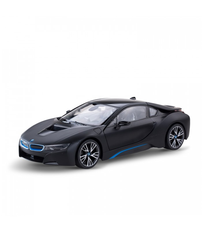 r c 1 14 bmw i8 noir. Black Bedroom Furniture Sets. Home Design Ideas